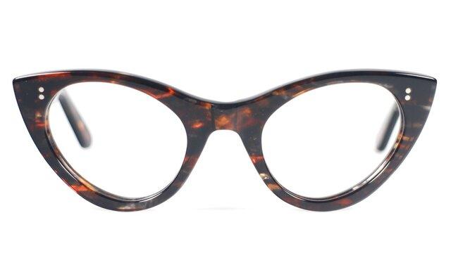 手作りセルロイド眼鏡T-034-HHの画像1枚目
