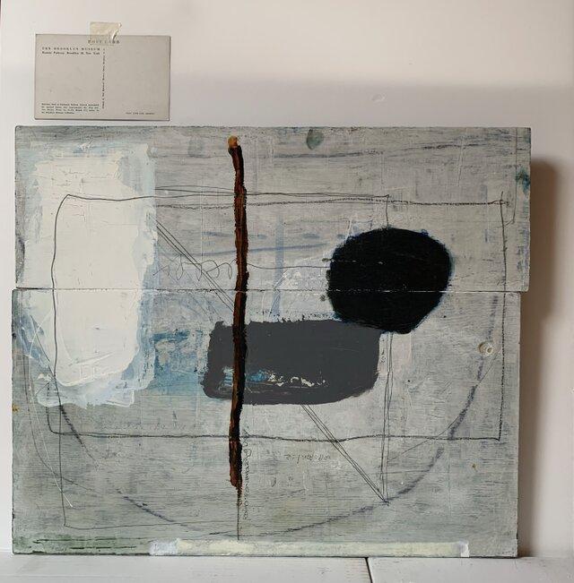 【原画】Roimos art    油絵 オーナメント 絵画 壁掛け original paintingの画像1枚目