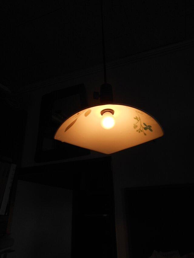 天井吊りランプシェード12-32の画像1枚目