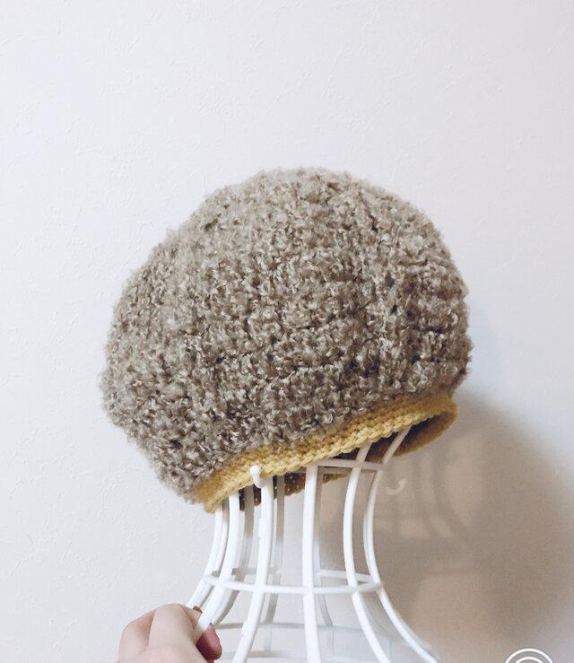 ブークレーのまあるいニット帽の画像1枚目