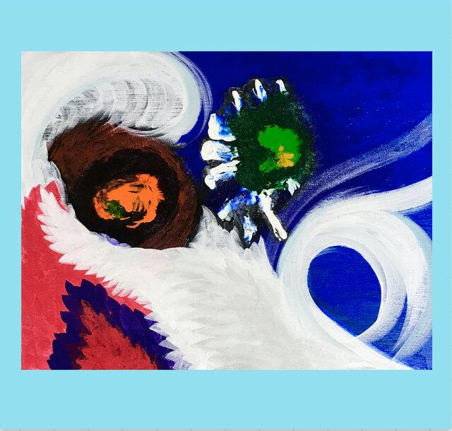 美乳拓アート(過去作品)の画像1枚目