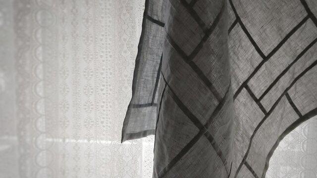 ポシャギ風クロス 60×60センチの画像1枚目