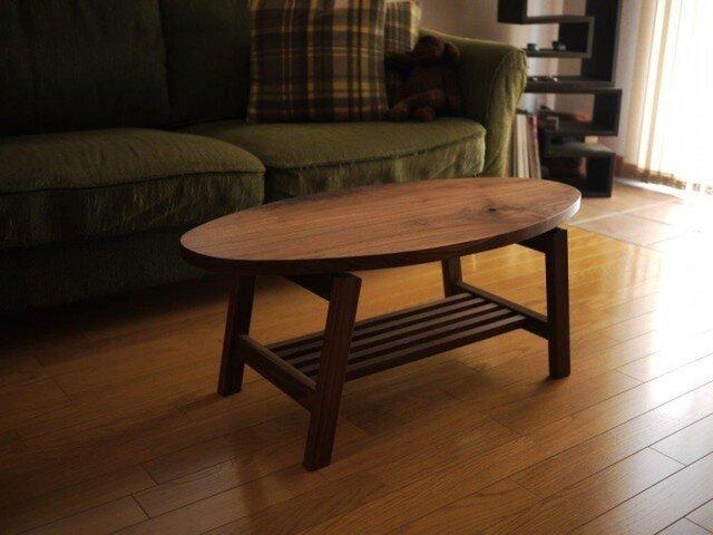 Café oval table [ カフェオーバルテーブル] の画像1枚目