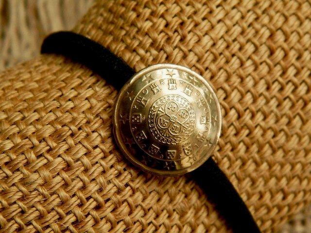 #H128  Portugal Coin Hair Elasticの画像1枚目