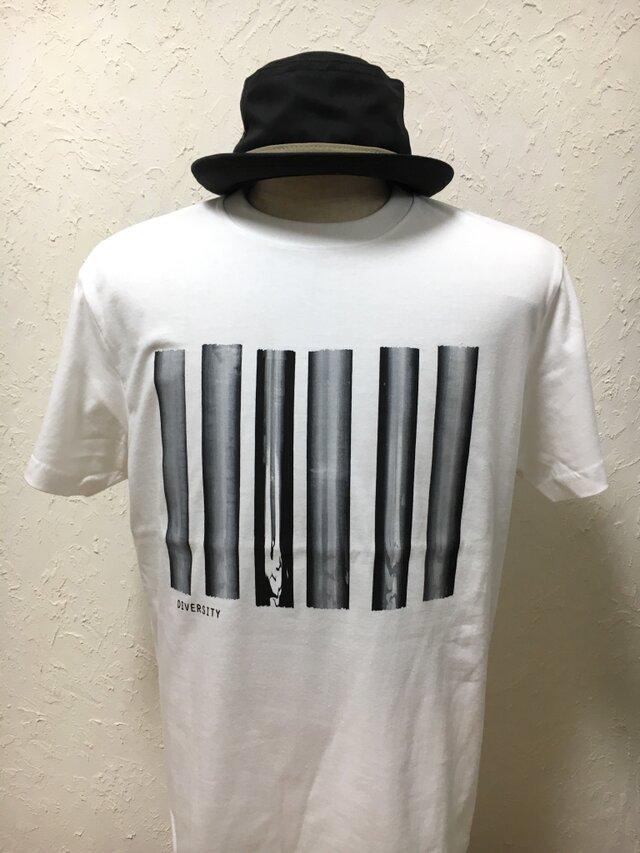 ダイバーシティ・ホワイト・Tシャツ【2TN-003-WT】の画像1枚目