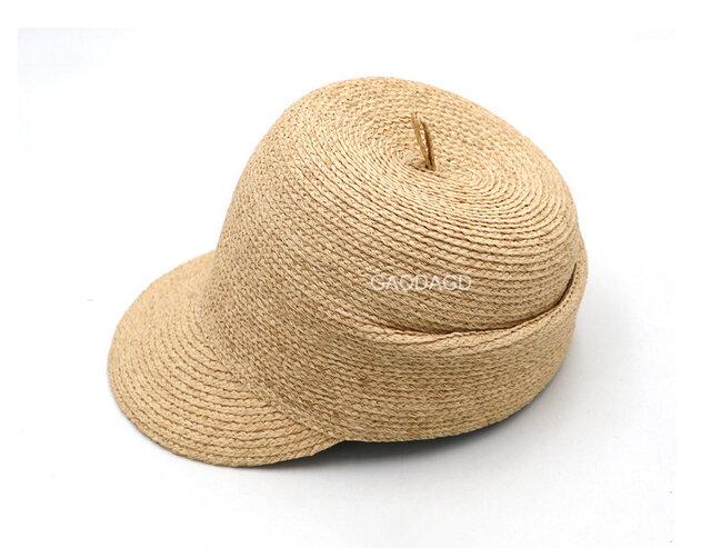 ☆NEW! 可愛い帽子 大人用 個性的な麦わら帽子の画像1枚目