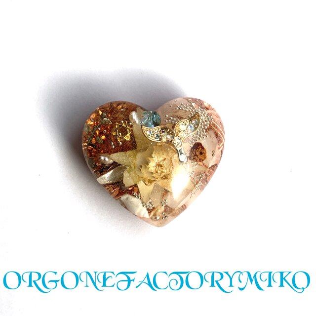 強運ホエールテール ポップ♡Sサイズ 金運  幸運 女性性 幸運メモリーオイル入 ハート型オルゴの画像1枚目
