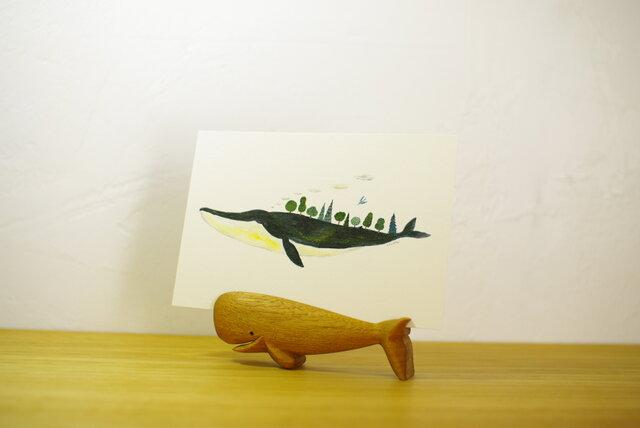 クジラスタンド(クルミモデル)の画像1枚目