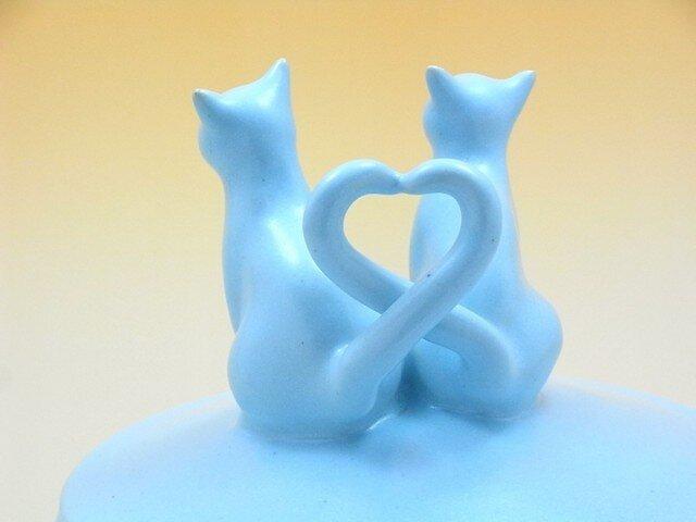 Love Love Cat クッキージャー・アイスミントーBの画像1枚目