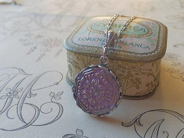 ヴィンテージ Lilac・Silver-flower (6) ネックレスの画像1枚目
