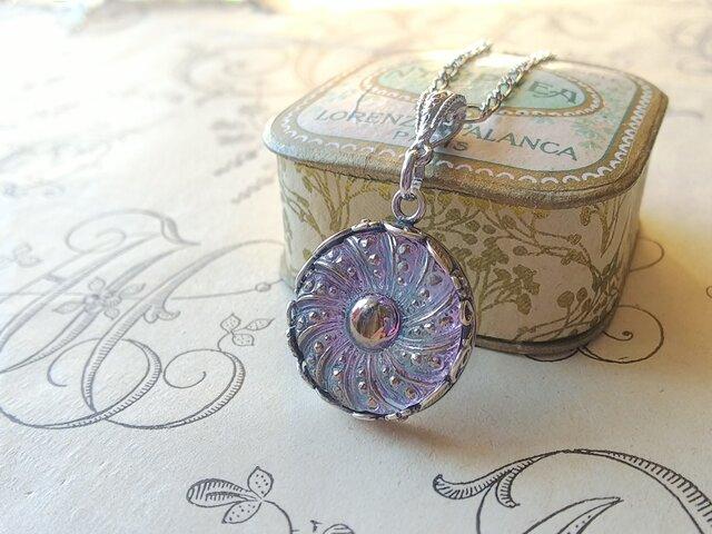 ヴィンテージ Lilac・Silver-flower (3) ネックレスの画像1枚目
