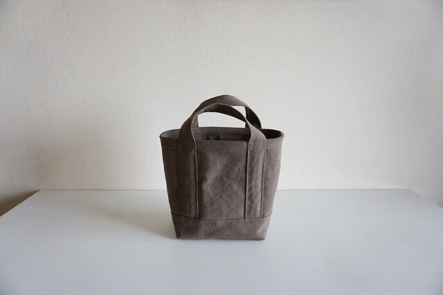 TOTE BAG (S) / smokybrownの画像1枚目