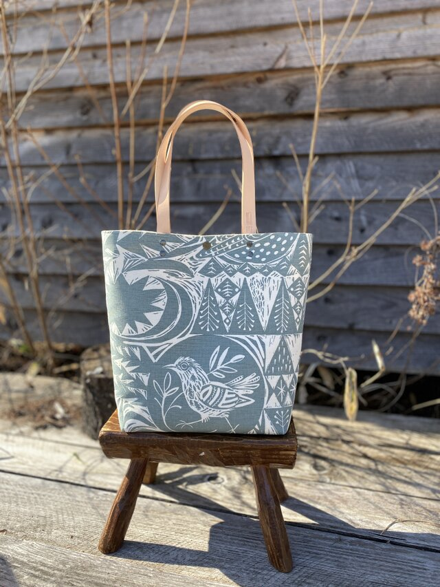 Tote bag [Bird Garden]の画像1枚目