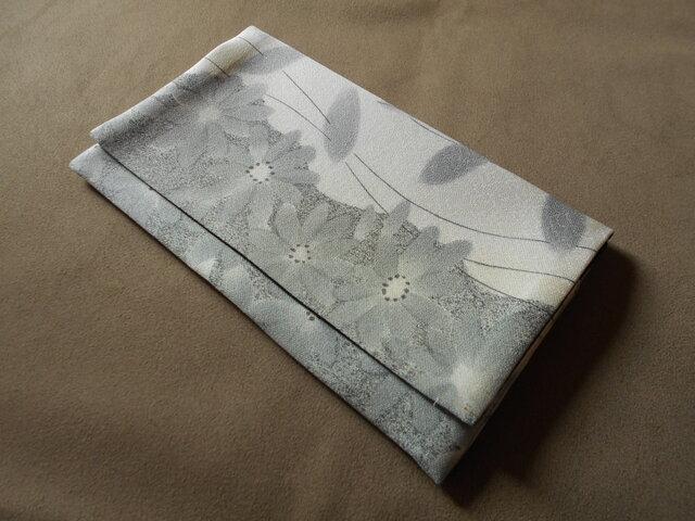 リメイク*懐紙入れ*墨絵菊の画像1枚目