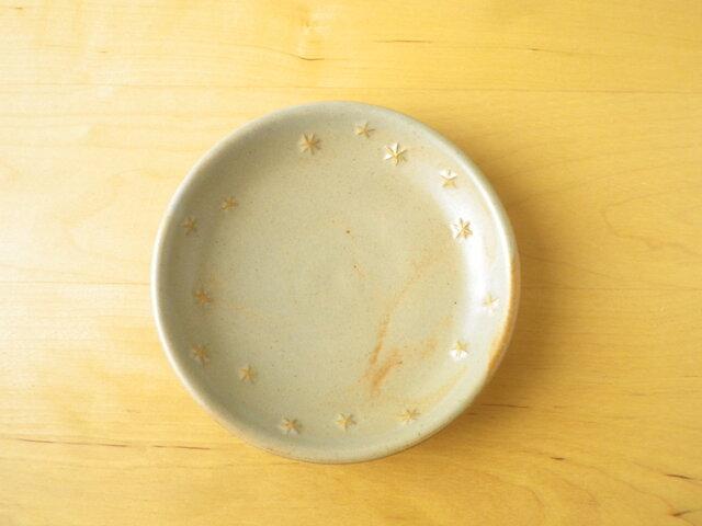 星模様の小皿*グレーの画像1枚目