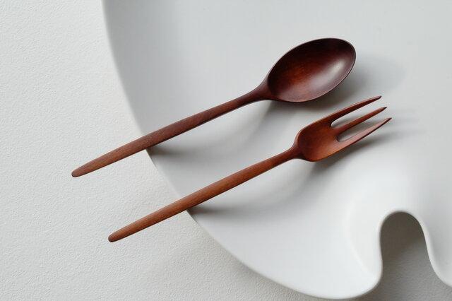 Kiko様分 山桜の3本櫛デザートフォーク(B)×1の画像1枚目