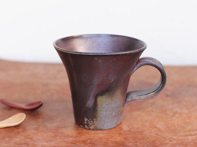 備前焼 コーヒーカップ(大) c5-087の画像1枚目
