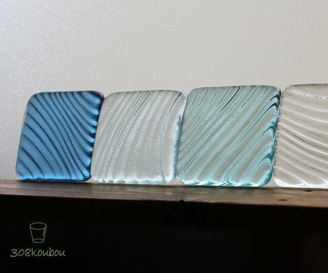 80角 ガラスタイル/B(4枚セット)の画像1枚目