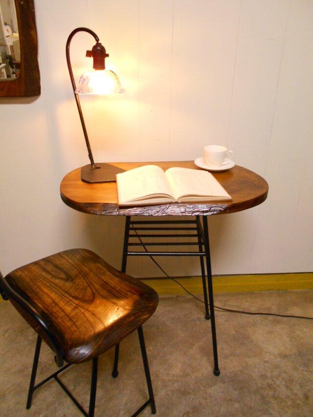 オーダー品:ひのきテーブル高さ80㎝の画像1枚目
