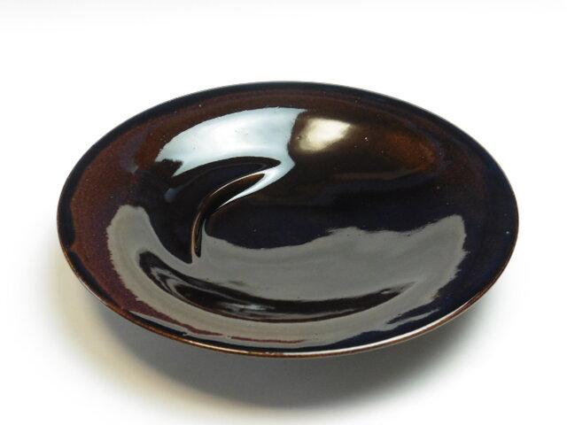 飴釉 万能カレー皿の画像1枚目