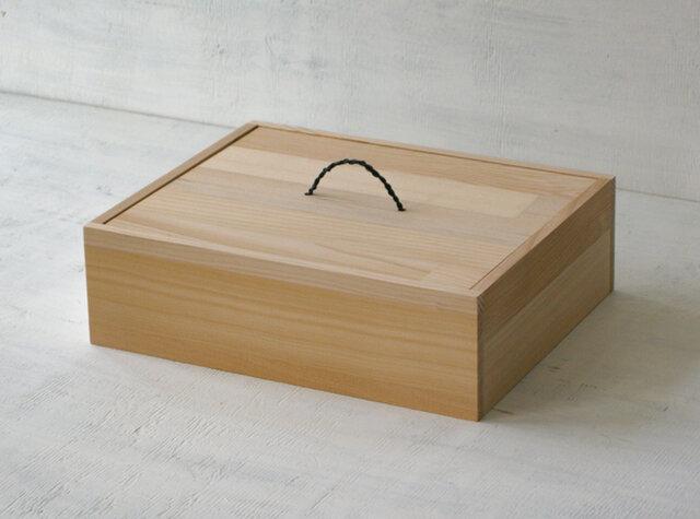 お道具箱(幅広)白木タイプの画像1枚目