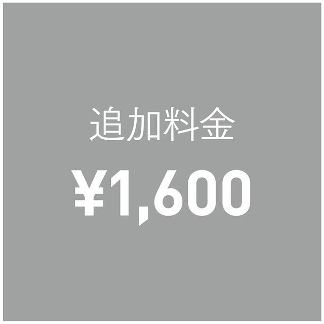 (オプション)追加料金 ¥1,600の画像1枚目