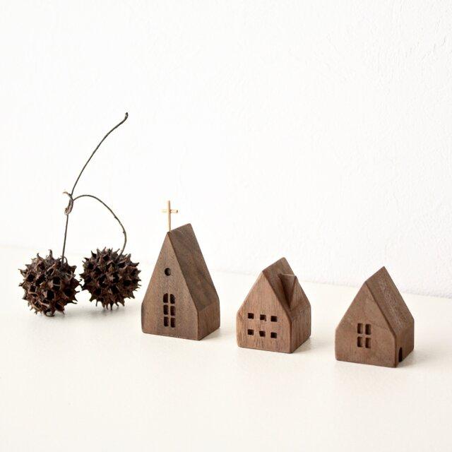 小さな木の家 ー教会64ーの画像1枚目