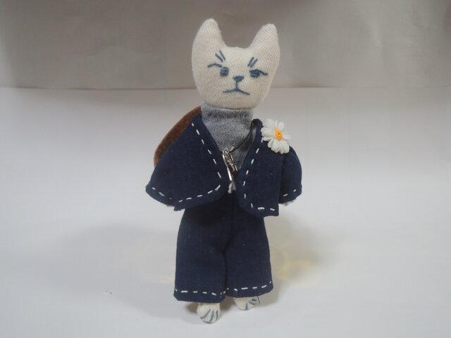 お洒落な猫のストラップ その5の画像1枚目