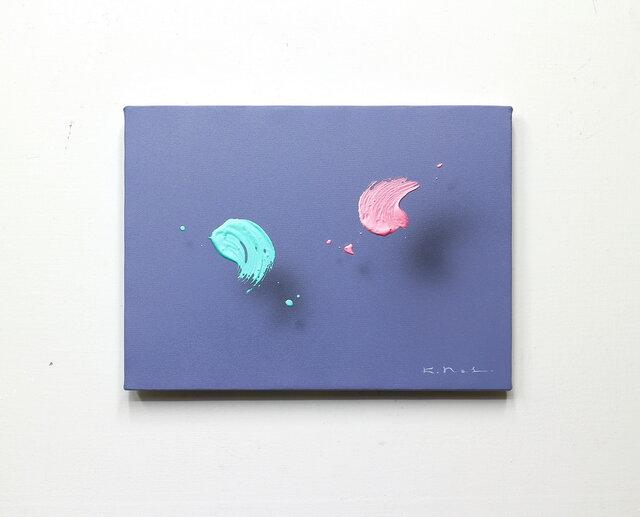 浮遊する筆触 【Layer 20022】 F4号の画像1枚目