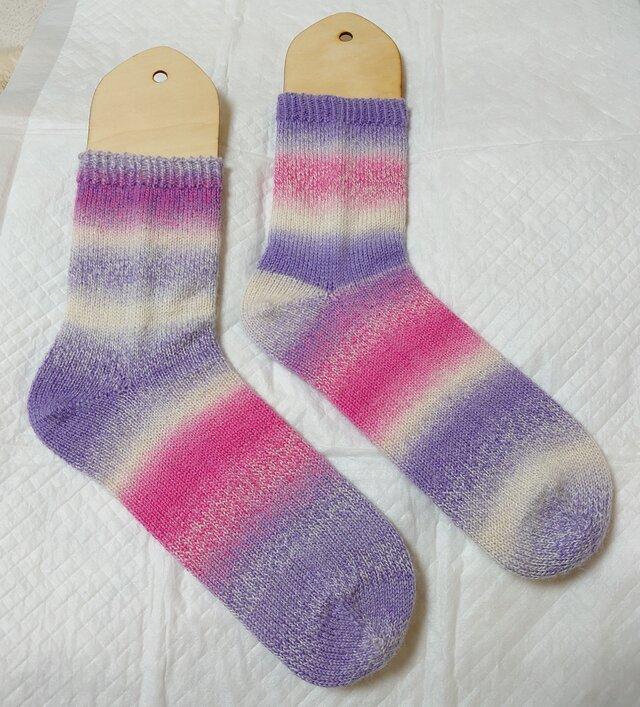 手編み靴下 schoppel クレイジーザウバーボールの画像1枚目