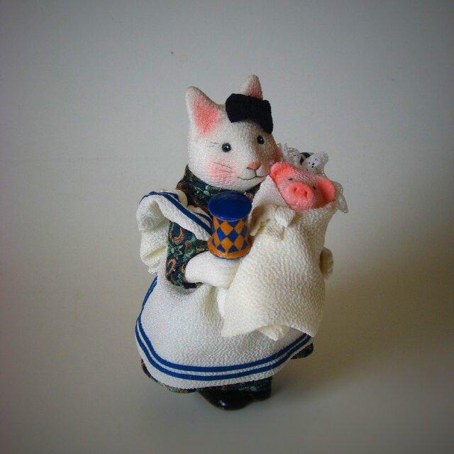 縮緬福猫 アリス猫 その二の画像1枚目