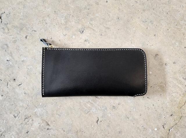 L字ファスナー財布【受注生産】の画像1枚目
