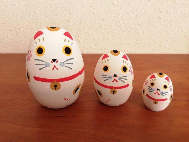 招き猫リョシカ Aの画像1枚目