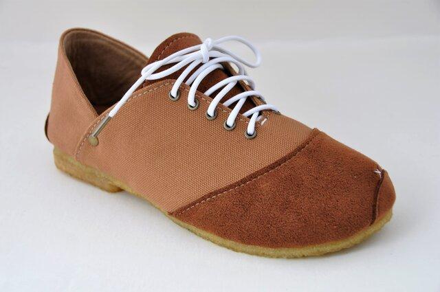 【受注製作】ROUND sneakersの画像1枚目