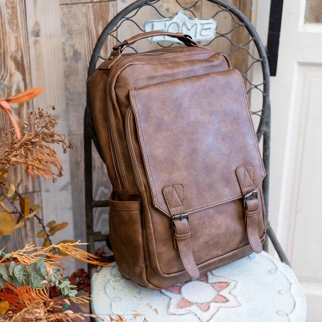 大容量 通学通勤 リュックサック 鞄 バッグ シンプル レザー ハンドバッグ ショルダーバグ レジャーバッグトートバッグの画像1枚目