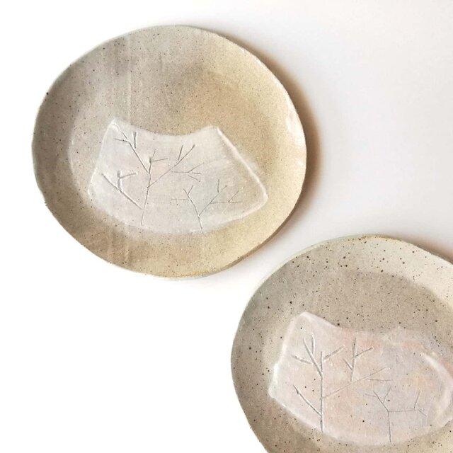 冬枯れプレート皿の画像1枚目