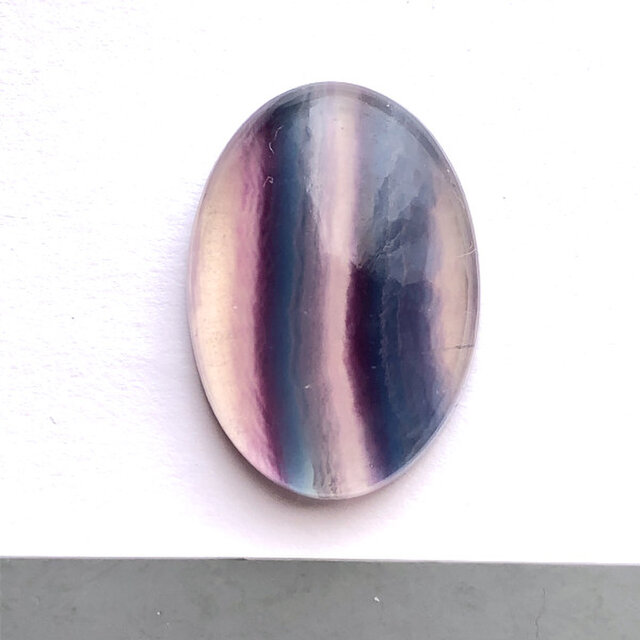 フローライト[109] 62Cts ルース・カボション 天然石の画像1枚目