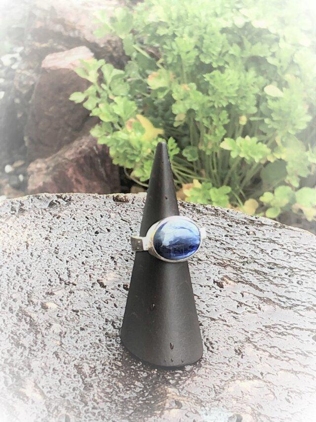 The Denim Kyanite Ring (ご予約)の画像1枚目