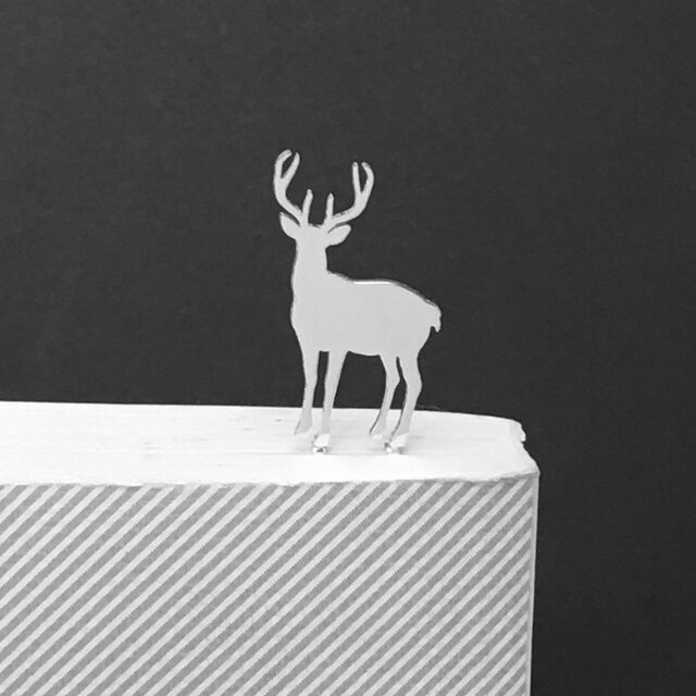 Deer-1-BookMark (Oder Production) 鹿 ブックマーク しおりの画像1枚目