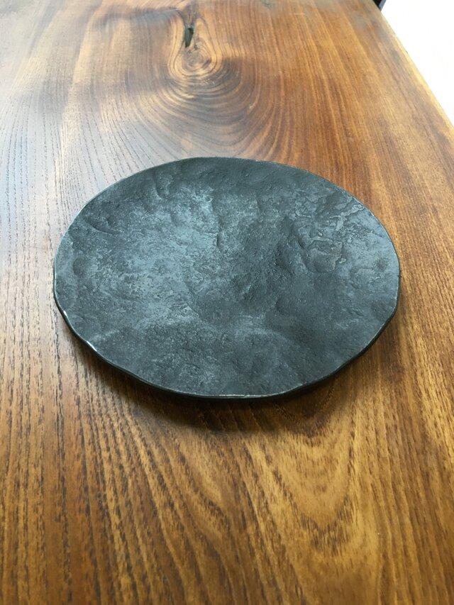 鉄の小皿 豆皿の画像1枚目