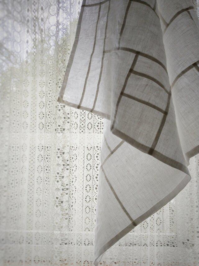 ポシャギ風クロス 約76×76センチの画像1枚目