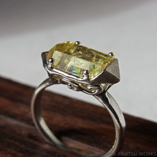 アパタイト・リング * Yellow Apatite Ringの画像1枚目