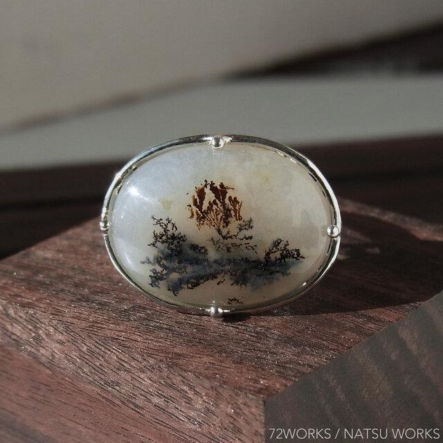 デンドリティックアゲート・リング * Dendritic Agate Ringの画像1枚目