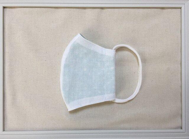お肌にやさしい立体マスク 大人用 送料無料 ダブルガーゼ使用の画像1枚目