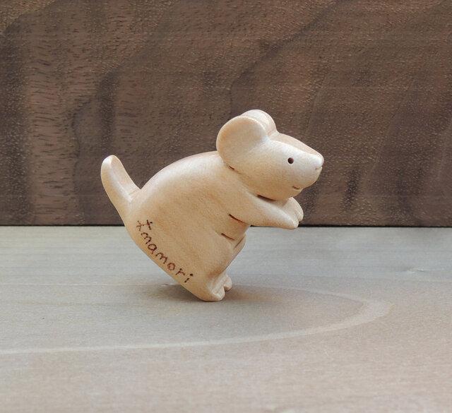 小さなネズミの置物 №2の画像1枚目