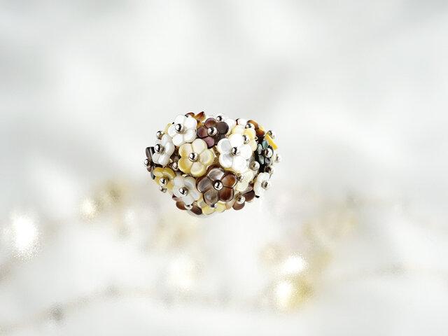 お花・お花・お花リングの画像1枚目