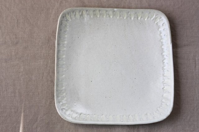 四角いパン皿(pallet 大)の画像1枚目