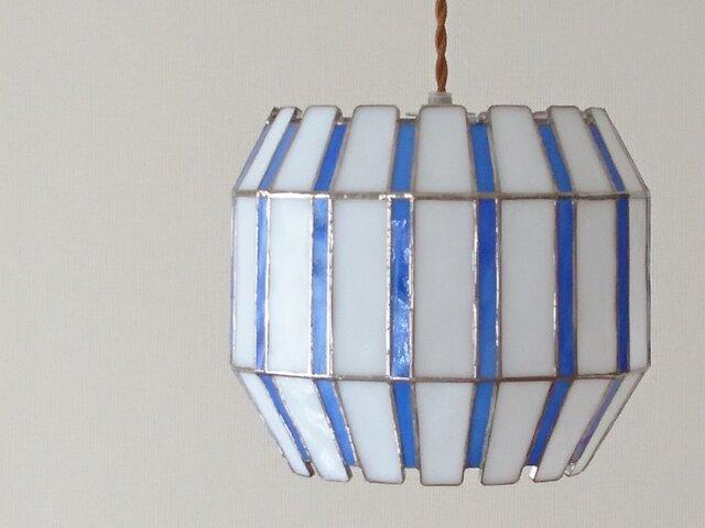 ステンドグラス*蕾* E26大きい電球用の画像1枚目