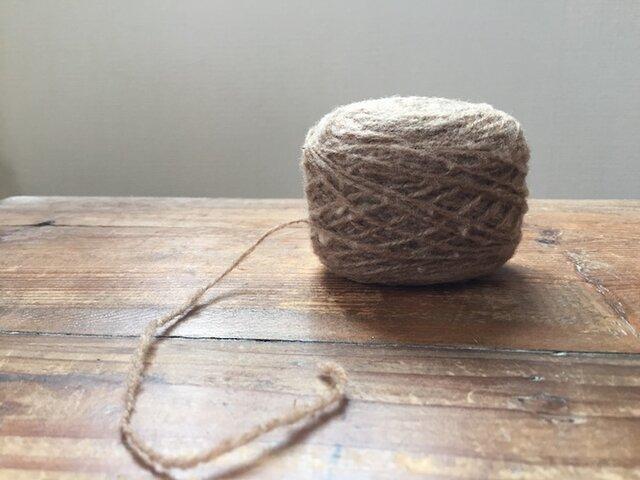 紡ぎ糸・シェットランド ネップの画像1枚目