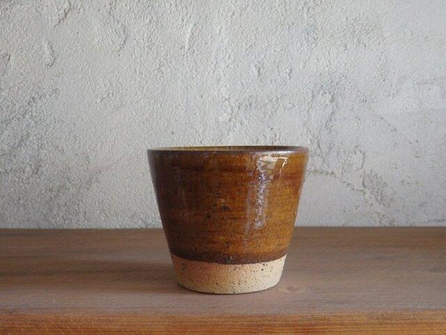 そばちょこカップ・brownの画像1枚目